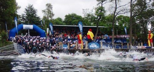 Great North Swim Start